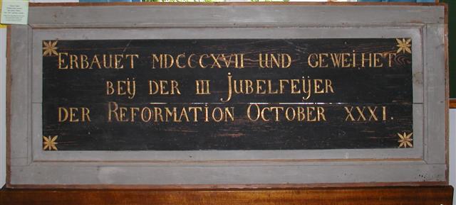 Orgel Hasbergen 1817